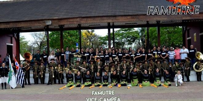 BAMUTRE campeã e FAMUTRE vice-campeã no 27° Concurso Nacional de Bandas e Fanfarras de Caieiras