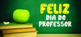 Dia 15 de Outubro: Dia de sentir orgulho em ser professor!