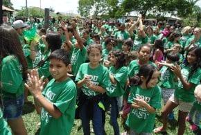 Horto Municipal recebe cerca de 1500 pessoas no II Encontro das Famílias de Tremembé