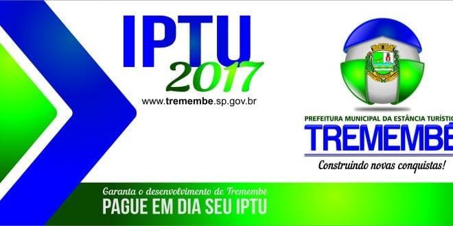 IPTU 2017: Carnês serão entregues a partir do dia 01 de março