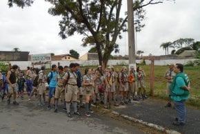 Escoteiros Trapistas realizam curso na Horta Comunitária do Jardim Santana
