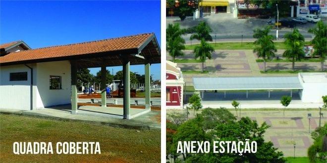 Prefeitura abre concorrência pública para Anexo da Estação e lanchonete da Quadra Coberta