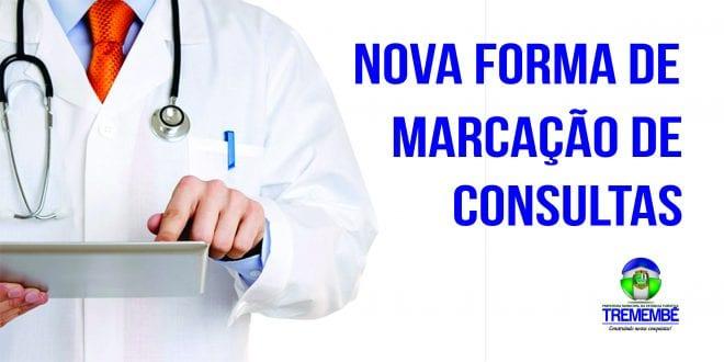 Nova forma de marcação de consultas no Centro de Saúde