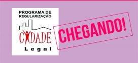 Regularização de Imóveis: Chácara Canaã, Chácara das Rosas, Nova Vida e Jardim Santana (somente Rua Campos do Jordão)