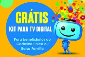 Tremembé distribui kits para TV Digital à população carente