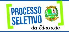 Vigésimo Quarto Edital de convocação dos aprovados no Processo Seletivo para Professor I e II;  Vigésimo Quinto Edital de convocação dos aprovados no Processo Seletivo para Auxiliar de Desenvolvimento Infantil e Inspetor de Alunos.