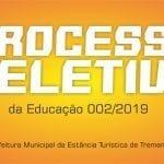 Processo Seletivo  Simplificado Nº 002/2019 - Editais de Convocação